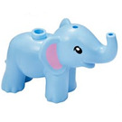 LEGO Bright Light Blue Elephant (67410)