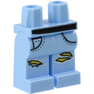 LEGO Bright Light Blue Parker L. Jackson Minifigure Hips and Legs (56262)