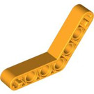 LEGO Bright Light Orange Beam Bent 53 Degrees, 4 and 4 Holes (32348)