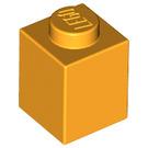 LEGO Bright Light Orange Brick 1 x 1 (3005)