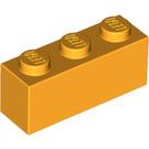 LEGO Bright Light Orange Brick 1 x 3 (3622)