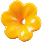 LEGO Bright Light Orange Flower with Rounded Petals (93081)