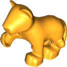 LEGO Bright Light Orange Lion Cub (12046 / 54528)