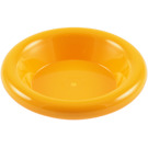 LEGO Bright Light Orange Minifig Dinner Plate (6256)