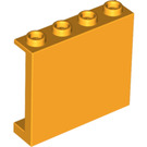 LEGO Bright Light Orange Panel 1 x 4 x 3 with Side Supports, Hollow Studs (60581)