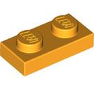 LEGO Bright Light Orange Plate 1 x 2 (3023)