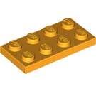 LEGO Bright Light Orange Plate 2 x 4 (3020)