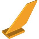 LEGO Bright Light Orange Shuttle Tail 2 x 6 x 4 (6239)