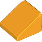 LEGO Bright Light Orange Slope 1 x 1 (31°) (54200)