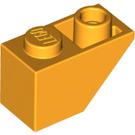 LEGO Bright Light Orange Slope 45° 2 x 1 Inverted (3665)