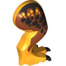 LEGO Bright Light Orange T-rex Back Right Leg (98163)