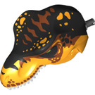 LEGO Bright Light Orange T-rex Head (41484)