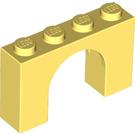 LEGO Bright Light Yellow Arch 1 x 4 x 2 (6182)