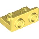 LEGO Bright Light Yellow Bracket 1 x 2 - 1 x 2 Up (99780)