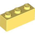 LEGO Bright Light Yellow Brick 1 x 3 (3622)