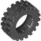LEGO Bright Light Yellow Wheel Hub 8 x 17.5 with Axlehole Assembly