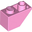 LEGO Bright Pink Slope 1 x 2 (45°) Inverted (3665)