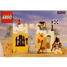 LEGO Broadside's Brig Set 6259 Instructions