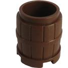 LEGO Brown Barrel 2 x 2 x 1.667 (2489)
