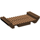 LEGO Brown Boat Base 8 x 16 (2560)