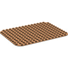 LEGO Brown Duplo Baseplate 12 x 16