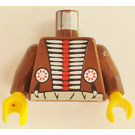 LEGO Brown Medicine Man Torso