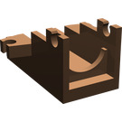 LEGO Brown Minifig Cannon 2 x 4 Base (2527)