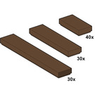 LEGO Brown Tiles Set 10046