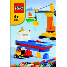 LEGO Build Your Own Harbor Set 6186 Instructions
