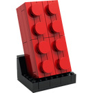 LEGO Buildable 2x4 Red Brick Set 5006085