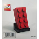 LEGO Buildable 2x4 Red Brick Set 5006085 Instructions