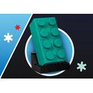 LEGO Buildable 2x4 Teal Brick Set 6346102