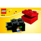 LEGO Buildable Brick Box 2x2 Set 40118 Instructions