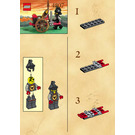 LEGO Bull's Fire Attacker Set 1288 Instructions