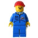 LEGO Bulldozer Driver Figurine
