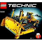 LEGO Bulldozer Set 42028 Instructions