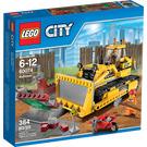 LEGO Bulldozer Set 60074 Packaging