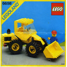 LEGO Bulldozer Set 6658