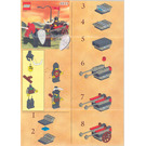 LEGO Bulls' Attack Wagon Set 4819 Instructions