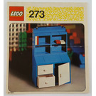 LEGO Bureau Set 273 Instructions
