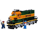 LEGO Burlington Northern Santa Fe (BNSF) Locomotive Set 10133