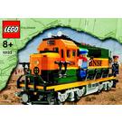 LEGO Burlington Northern Santa Fe (BNSF) Locomotive Set 10133 Instructions