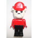 LEGO Buster Bulldog with Fire Helmet Fabuland Figure