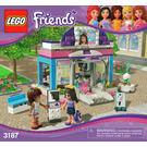 LEGO Butterfly Beauty Shop Set 3187 Instructions