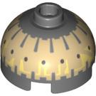 LEGO Buzz Droid Brique 2 x 2 Rond avec Dome Haut (Goujon creux avec support d'axe inférieur x forme + orientation) (16378 / 30367)