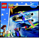 LEGO Buzz's Star Command Spaceship Set 7593 Instructions