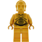 LEGO C-3PO Minifigure Pearl Gold with Pearl Gold Hands
