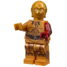 LEGO C-3PO with 1 red arm Minifigure