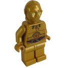 LEGO C-3PO with Colorful Wires Pattern Minifigure
