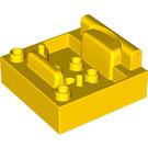 LEGO Cabin 4 x 4 Bottom (65829)